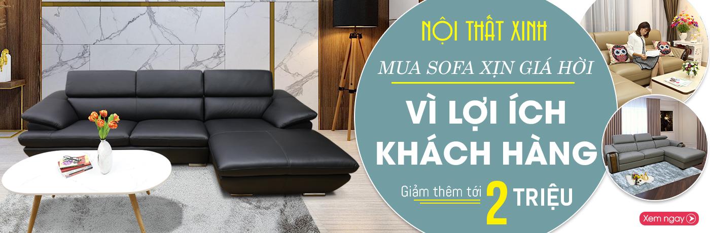 Mua sofa Nội Thất Xinh xịn giá cực hời