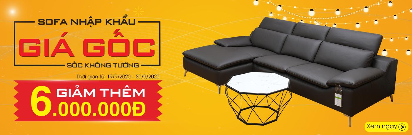Sofa khuyến mãi giá gốc giảm sốc ngay 6 triệu tại Nội Thất Xinh