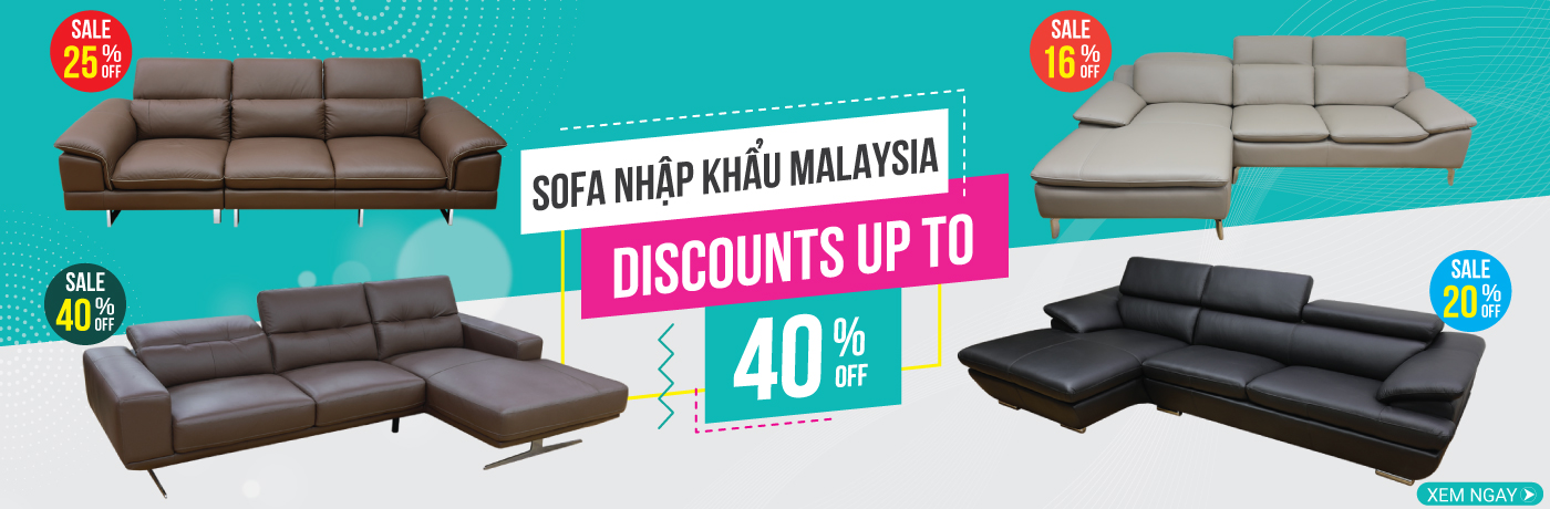 Sofa khuyến mãi giảm giá sốc