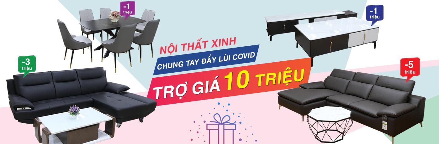 Trợ giá mùa dịch mua sản phẩm khuyến mãi tại Nội Thất Xinh