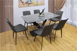 10+ Bộ bàn ăn màu đen đẹp và sang trọng nhất cho phòng bếp