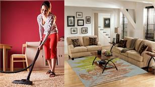 10 cách làm sạch thảm không cần máy hút bụi vô cùng hiệu quả