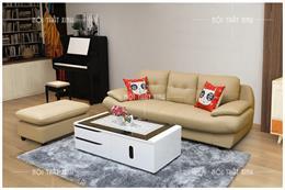 10 mẫu bàn ghế phòng khách chung cư nhỏ mới nhất 2020