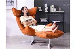 10 mẫu ghế sofa đơn chân xoay đẹp cho mọi không gian