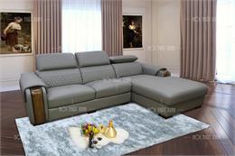 15 bộ ghế sofa da chữ L đẹp hiện đại HOT nhất hiện nay