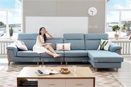 15 mẫu ghế sofa nỉ phòng khách chữ L đẹp