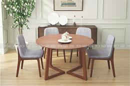 20+ Mẫu bàn ghế ăn gỗ tự nhiên đẹp nhất 2020 Bền Sang Rẻ!