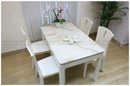 7 Bộ bàn ăn 4 ghế nhỏ gọn tại Hà Nội đẹp nhất & kích thước