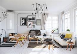 Bắt kịp ngay 6 thiết kế nội thất cho phòng khách rộng – Phần 2