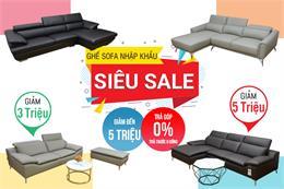 Big sale sofa nhập khuyến mãi T11: cực nhiều ưu đãi hấp dẫn