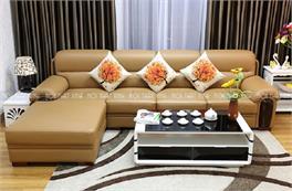 BST các mẫu sofa góc ốp gỗ khẳng định đẳng cấp không gian