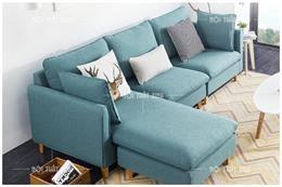 Chất liệu mẫu sofa góc đẹp thanh lịch