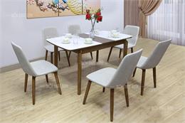 Click xem ngay 12 bộ bàn ghế ăn 6 người giá tốt nhất