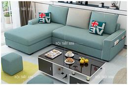 CLICK xem ngay BST sofa góc đẹp bằng vải cực đẹp cực sang