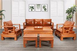 Có nên sử dụng ghế sofa gỗ gõ đỏ hiện đại không?