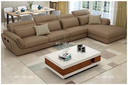 List sofa góc bằng da và vải nỉ thật nhiều màu đa dạng