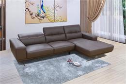Mẫu sofa góc đơn giản: 14 mẫu màu nâu và màu xám đẹp tinh tế