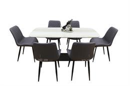 Thông tin 10 mẫu bàn ăn có ghế bọc da cao cấp sang nhất