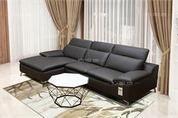 Tổng hợp 8 mẫu sofa góc chân inox hiện đại nhất