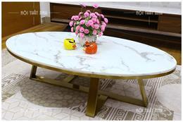 Tổng hợp các mẫu bàn trà hình Oval đẹp và địa chỉ mua uy tín