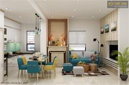 Tổng hợp các mẫu nội thất phòng khách chung cư nhỏ đẹp 2020