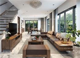 Tổng hợp các mẫu sofa gỗ chữ L đẹp nhất cho chung cư nhà phố