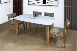 Top 8 bàn ghế ăn mặt đá cho chung cư thêm hoàn hảo