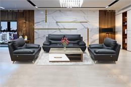 Top các bộ sofa phòng làm việc màu đen sang trọng