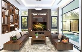 Top những bộ bàn ghế sofa gỗ đẹp cho năm nay