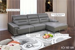 Từ A-Z các mẫu sofa phòng khách lớn rộng hợp mọi không gian