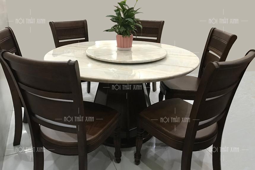 Mẫu bàn ghế phòng ăn BA2104