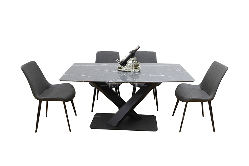 Top bộ bàn ghế ăn cơm gia đình đẹp nhất - bàn ăn BA1980-2