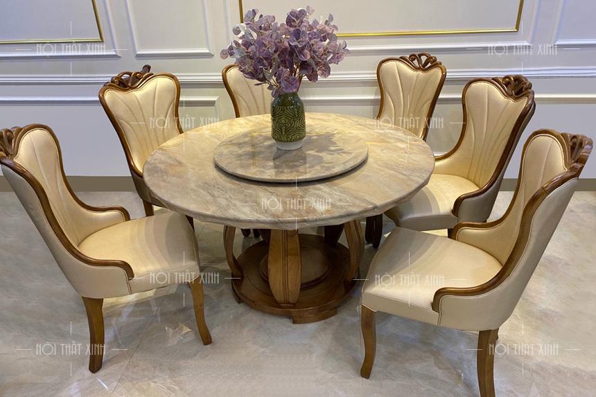 Mẫu bàn ghế phòng ăn BA2103