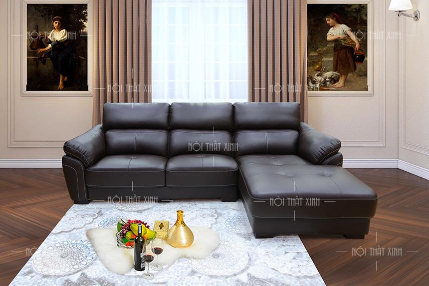 Mẫu ghế sofa da đẹp nhập khẩu