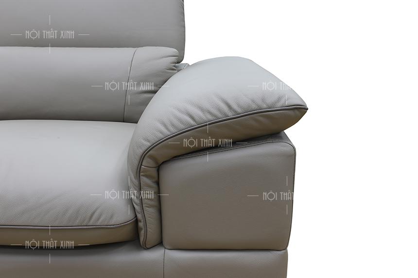 ghế sofa văng da thật