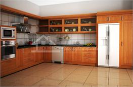 Tủ bếp gỗ xoan đào mã XXD13