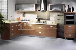 Tủ bếp gỗ công nghiệp mã XCN04