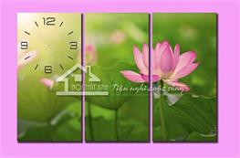 Tranh đồng hồ mã TDH023