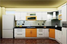 Tủ bếp gỗ công nghiệp mã XCN08