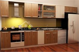 Tủ bếp gỗ công nghiệp mã XCN12