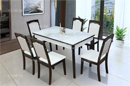 Mẫu bàn ghế ăn BA1907