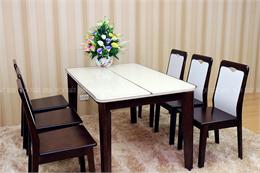 Bàn ghế ăn mã XBA186