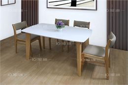 Bộ bàn ghế ăn giá rẻ đẹp BA204