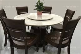 Bộ bàn ghế ăn cao cấp BA2104