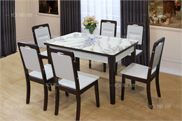 Bộ bàn ghế ăn đẹp BA1906