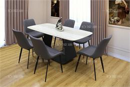 Bộ bàn ghế ăn đẹp BA206-1