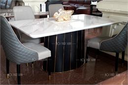 Bộ bàn ghế ăn đẹp nhập khẩu BA1909