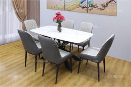 Bộ bàn ghế phòng ăn đẹp BA205