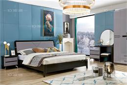 Bộ giường tủ phòng ngủ cao cấp GT118