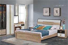 Bộ giường tủ phòng ngủ cao cấp GT129